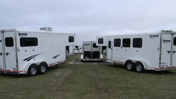 Shadow Gooseneck Horse Trailers for Sale